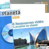 Sandrine Debras - Espagnol Bac Pro A2-B1 Planeta. 1 DVD