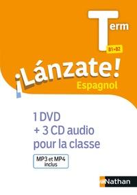 Edouard Clemente et Monique Laffite - Espagnol Tle B1>B2 Lanzate !. 1 DVD + 3 CD audio