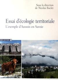 Nicolas Buclet - Essai d'écologie territoriale - L'exemple d'Aussois en Savoie.