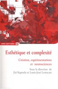 Zoï Kapoula et Louis-José Lestocart - Esthétique et complexité - Création, expérimentations et neurosciences.