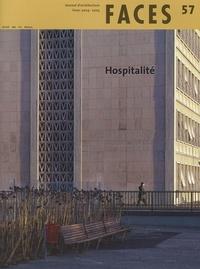Cyrille Simonnet et Donato Severo - Faces N° 57, Hiver 2004-20 : Hospitalité.