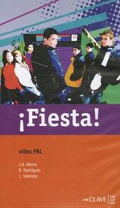 José Antonio Menor et Beatriz Rodriguez - Fiesta ! - K7 Vidéo Pal.