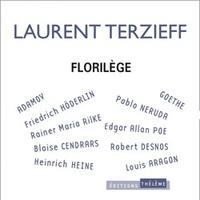 Laurent Terzieff - Florilège - CD audio.