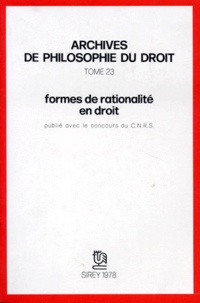 Michel Villey - Formes de rationalité en droit.