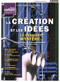 Sandrine Treiner - France Culture Papiers N° 19, automne 2016 : La création et les idées.