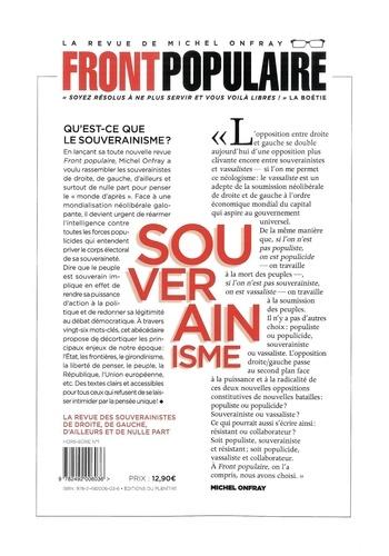 Front populaire Hors-série 1 L'abécédaire du souverainisme