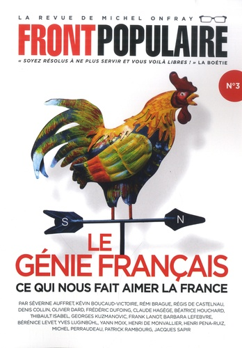 Front populaire N° 3 Le génie français. Ce qui nous fait aimer la France