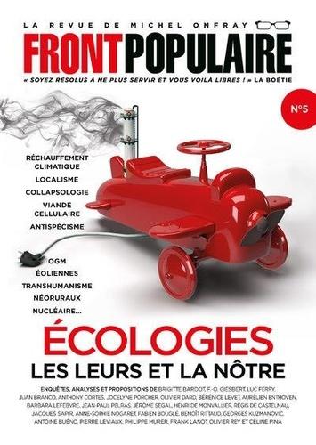 Jean-Baptiste Roques - Front populaire N° 5, été 2021 : Ecologies - Les leurs et la nôtre.