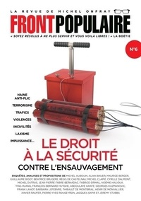 Jean-Baptiste Roques - Front populaire N° 6 : Le droit à la sécurité - Contre l'ensauvagement.