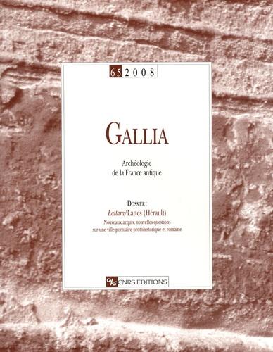 William Van Andringa - Gallia N° 65/2008 : .