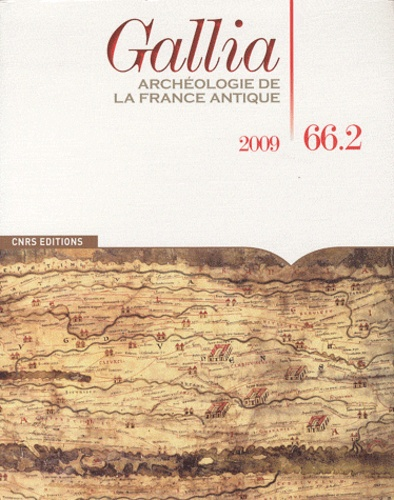 William Van Andringa - Gallia N° 66.2, 2009 : .