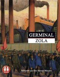 Emile Zola - Germinal. 2 CD audio MP3