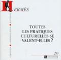 Jean-Pierre Sylvestre - Hermès N° 20 : Toutes les pratiques culturelles se valent-elles ?.