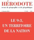 Jérémy Robine - Hérodote N° 162, 3e trimestre : Le 9-3, un territoire de la nation.