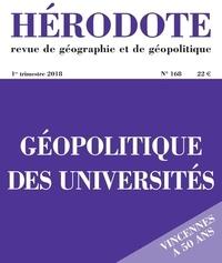 Béatrice Giblin et Yves Lacoste - Hérodote N° 168, 1er trimestr : Géopolitique des universités.