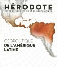 Béatrice Giblin et Yves Lacoste - Hérodote N° 171, 4e trimestre : De l'Amérique latine.