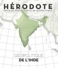 Béatrice Giblin et Yves Lacoste - Hérodote N° 173, 2e trimestre : Géopolitique de l'Inde.