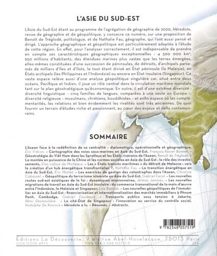 Hérodote N° 176, 1er trimestr L'Asie du sud-est