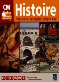 François Fontaine et Brigitte Verlon - Histoire CM - Préhistoire, Antiquité, Moyen Age. 1 Clé Usb