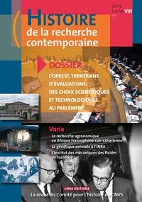 Histoire de la recherche contemporaine Tome 8 N° 1/2019.pdf