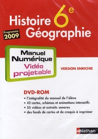 Histoire Géographie 6e - DVD-ROM Manuel numérique vidéo projetable, programme 2009.pdf