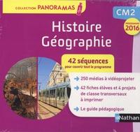Isabelle Bourdier et Suzanne Pointu - Histoire Géographie CM2 Panoramas - 42 séquences pour couvrir tout le programme. 1 Clé Usb