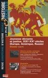 Eric Pierre - Histoire & Sociétés N° 25-26, Avril 2008 : Jeunesse déviante et justice, XIXe-XXe siècles (Europe, Amérique, Russie).