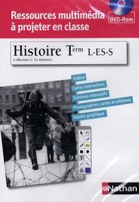 Guillaume Le Quintrec - Histoire Tle L-ES-S. 1 DVD-Rom
