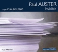 Paul Auster - Invisible. 1 CD audio MP3