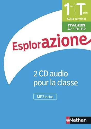Italien 1re/Tle A2>B1-B2 Esplorazione  Edition 2020 -  2 CD audio