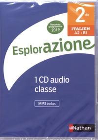 Marie-Thérèse Medjadji - Italien 2de A2>B1 Esplorazione. 1 CD audio
