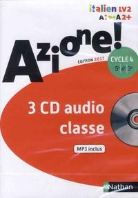 Nathan - Italien 5e 4e 3e Cycle 4 Azione !. 3 CD audio