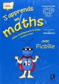 Rémi Brissiaud - J'apprends les maths CP avec Picbille - Programmes 2008. 1 Cédérom
