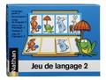Nathan matériel éducatif - Jeu de langage 2.