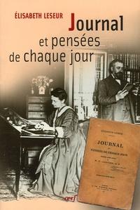 Elisabeth Leseur - Journal et pensées de chaque jour.