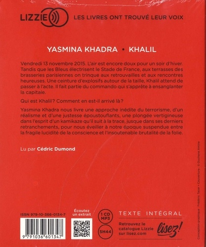 Khalil  avec 1 CD audio MP3