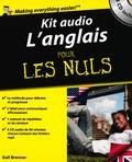 Gail Brenner - Kit audio l'anglais pour les nuls. 3 CD audio