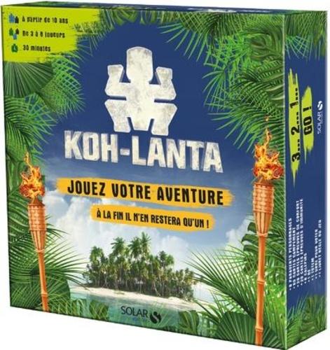 Coline Pignat et Simon Gabillaud - Koh-Lanta - Jouez votre aventure - A la fin il n'en restera qu'un !.