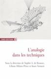 Liliane Hilaire-Pérez et Sophie-A de Beaune - L'analogie dans les techniques.