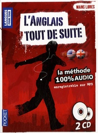 Pocket - L'anglais tout de suite - La méthode 100% audio. 2 CD audio
