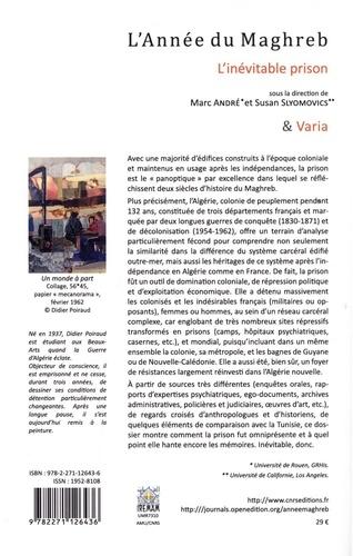 L'Année du Maghreb N° 20/2019 L'inévitable prison