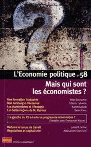 Peps-Economie et Frédéric Lebaron - L'Economie politique N° 58 avril 2013 : Mais qui sont les économistes ?.