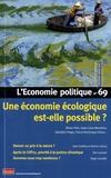 Olivier Petit et Iratxe Calvo-Mendieta - L'Economie politique N° 69, janvier 2016 : .