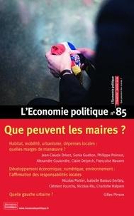 Sandra Moatti - L'Economie politique N° 85, janvier 2020 : Que peuvent les maires ?.