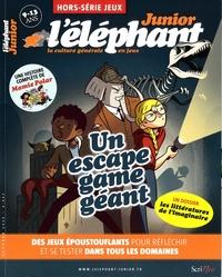 Stéphanie Tisserond - L'éléphant junior Hors-série jeux, oct : .