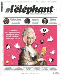 Guénaëlle Le Solleu - L'éléphant N° 33, janvier 2021 : .