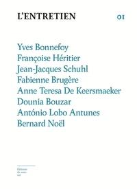 Yves Bonnefoy et Françoise Héritier - L'Entretien N° 1 : .