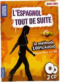 Pocket - L'espagnol tout de suite - 2 CD audio.