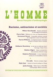 Wiktor Stoczkowski et Pierre Savy - L'Homme N° 182, Avril-juin 2 : Racisme, antiracisme et sociétés.