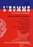 Jackie Assayag et Carlo Ginzburg - L'Homme N° 187-188, Juillet- : Miroirs transatlantiques.
